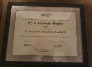 Global Print Leadership Award